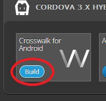 Build Crosswalk in XDK