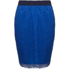 Sporty Lace Skirt ($170) ❤ liked on Polyvore