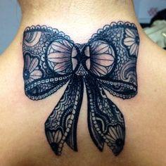Resultado de imagem para cover up bow tattoo