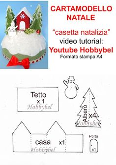 HOBBYBEL blog & youtube Christmas Time, Christmas Ornaments, Centerpieces, Holiday Decor, Blog, Handmade, Crafts, Big Shot, Creative Crafts