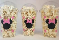 Minnie Mouse party favor bags, Minnie Mouse Party Favors, Minnie Mouse party Cups, Minnie Mouse Birthday Party Cups, Minnie Mouse favors These are great for any Mouse inspired party. Each cup is 16 oz. and made from a sturdy disposable Minnie Mouse Party, Minnie Mouse Favors, Minnie Mouse 1st Birthday, Minnie Mouse Baby Shower, Minnie Mouse Pink, Mickey Party, Mouse Parties, Disney Parties, 2nd Birthday