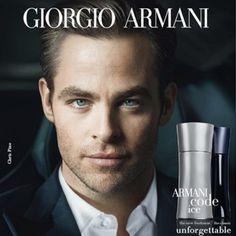 Chris Pine - Giorgio Armani Armani Code Ice Pour Homme