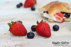 Fresh Fruit Star Spangled Dessert