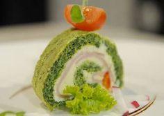 spenatova-rolada Sushi, Cooking Recipes, Ethnic Recipes, Food, Chef Recipes, Essen, Meals, Yemek, Eten