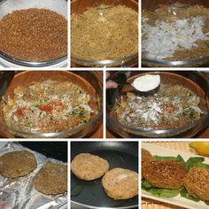 HAMBURGUESAS DE LENTEJAS. Hamburguesas baja en calorías para las cenas y para engañar a los más peques y hacer que coman legumbres ;)  VER RECETA--->http://yhoyquecomemos.com/receta/hamburguesas-de-lentejas/