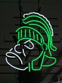 NCAA Michigan State University MSU Spartans Beer Bar Neon Sign 15