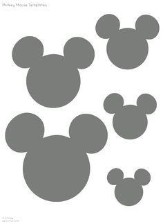 mickey stencil - Google Search