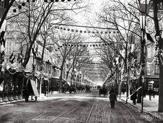 Avenue Jean Medecin avant 1890