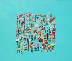 """Coloridos, alegres y apretados les gusta pasar algunos domingos"""", by Felipe Gimenez"""