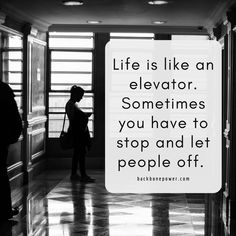 Life is like an elevator. Positive Thoughts, Positive Vibes, Life Is Like, My Life, Relationship Quotes, Life Quotes, Victim Blaming, Anti Social, English Quotes