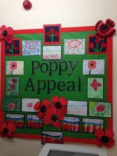 Primary School, Poppies, Community, Display, Floor Space, Elementary Schools, Billboard, Poppy, Poppy Flowers