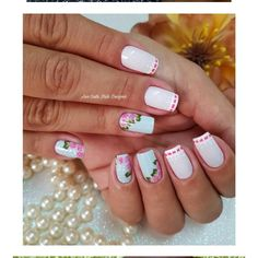 Manicure And Pedicure, Nail Tips, Nail Art Designs, Nails, Manicures, Blog, Beauty, Edgy Nail Art, Nail Trends