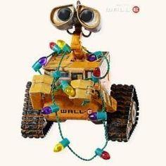 Deck the Planet! Disney/Pixar's WALL-E 2008 Hallmark Ornament