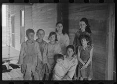 Frank Tengle family, Hale County, Alabama. Sharecroppers. Walker Evans- Summer of 1936