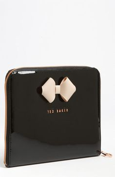 Ted Baker iPad Case.  Mr. Lewis got this for me for Mother's Day.