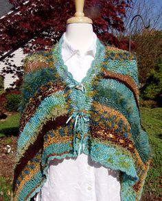 Dreamy Shawl Knitting Pattern. Detailed pattern for por jenpedwards