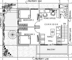 Modern 15 - House Designer and Builder Duplex Plans, Construction Contract, 2 Storey House, Ground Floor Plan, Deck Plans, Roof Deck, House Architecture, Second Floor, Zen