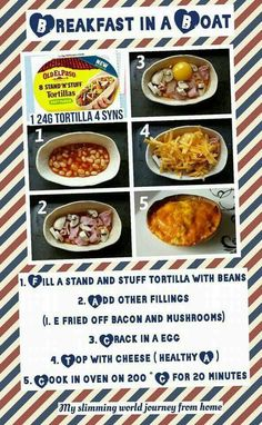 Slimming World breakfast/dinner idea                                                                                                                                                      More Slimming Worls, Slimming World Tips, Slimming World Snacks, Slimming Eats, Slimming World Recipes Syn Free, Healthy Eating Recipes, Healthy Breakfasts, Eat Healthy, Healthy Life