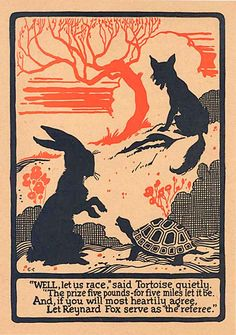 Hare and tortoise...and fox