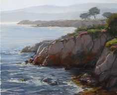 Pacific Grove Morning by Kathleen Dunphy Oil ~ 20 x 24