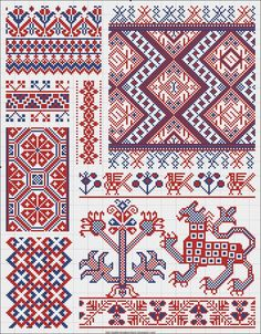 Collected+velikorusskih+and+malorossiyskih+patterns+for+embroidery+-+04.jpg (1249×1600)