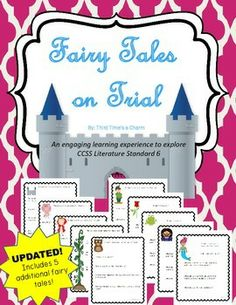 Fairy Tales on Trial (Fractured Fairy Tales & Point of View)                                                                                                                                                                                 More