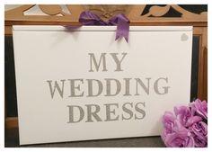 #Diamante My Wedding Dress, Wedding Dress Travel box from http://www.bonbod.com
