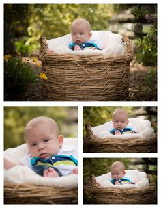 3 month old baby boy photo shoot idea