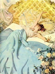 Art And Illustration, Vintage Posters, Vintage Art, Vintage Romance, Art Brut, Classical Art, Pulp Art, Retro Art, Aesthetic Art