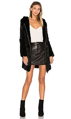 26140b1b3ba38 online shopping for Adrienne Landau Knit Rabbit Fur Long Hoodie from top  store. See new offer for Adrienne Landau Knit Rabbit Fur Long Hoodie
