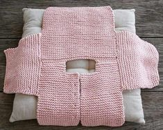 Step By Step Baby Cardigan