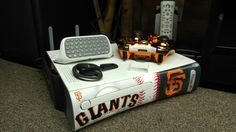 Here's an update of my XBOX 360 S.F. Giants Theme Game Console with Official Products from Microsoft/Xbox • GameStop • Amazon  [Let met remind you that this S.F. Giants Faceplate is manufactured by MAD CATZ, an Official Licensed Product]