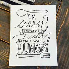 Y regálate el cartel que cada cocina necesita.