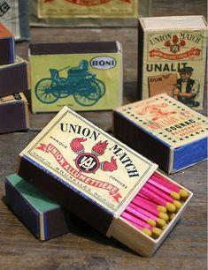 Belgium match boxes Vintage Packaging Design Inspiration