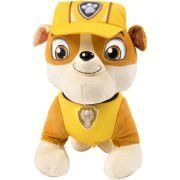 Paw Patrol Deluxe Lights and Sounds Plush- Real Talking Rubble
