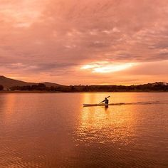 This lovely photo of Canberra by Instagrammer travislongmore shows how beautiful a city the capital can be!