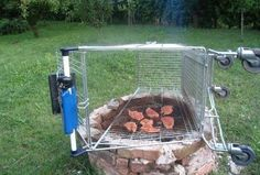 » Redneck barbeque grill