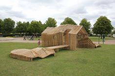 Clubhouse Material: Accoya wood Year: 2009 Remy & Veenhuizen