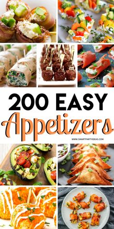 Host an epic party with one or many of these delicious small bite party appetize. Host an epic party with one or many of these delicious small bite party appetizers. With over 200 d Finger Food Appetizers, Yummy Appetizers, Appetizers For Party, Finger Foods, Appetizer Sandwiches, Summer Appetizer Party, Birthday Appetizers, Appetizers Table, Easy Party Food