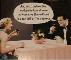 Red wine humor