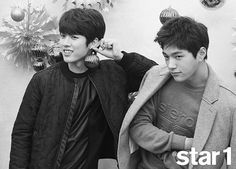 INFINITE F choose the member with the best visual during their photoshoot with '@star1' | allkpop.com
