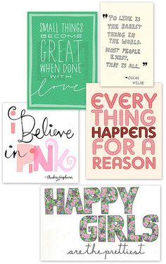 Quotes Worth Repeating by decor8, via Flickr