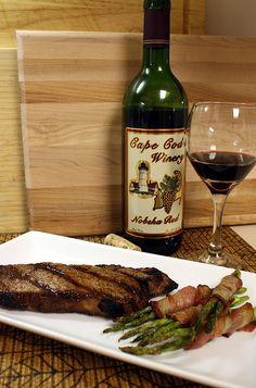 Anniversary dinner. Accord met et vin / pairing food and wine