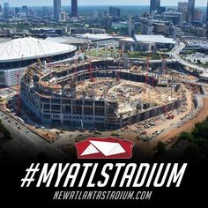 We want to see new Atlanta stadium construction progress through your eyes! If you're in the area and snap a pic of construction, use #MyATLStadium on Twitter or Instagram and it'll end up in our feed: http://atlfal.co.nz/1LFUtor