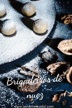 Estos brigadeiros de nuez son tan deliciosos y fáciles de hacer que no podrás creerlo. Stuffed Mushrooms, Tasty, Vegetables, Irene, Healthy, Mini, Food, Youtube, Gourmet