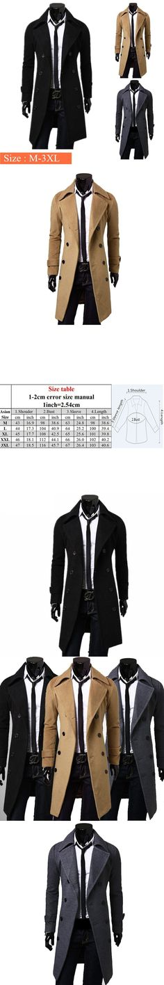 New Trench Coat Men 2017 Jacket Mens Overcoat Slim Fit Long Coat Men Fashion Win…  New Trench Coat Men 2017 Jacket Mens Overcoat Slim Fit Long Coat Men Fashion Winter Coats Homme Plus Size New Trench Coat Men 2017 Jacket Mens Overcoat Slim Fit Long Coat Men Fashion...