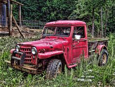 Old early 50's Jeep- perfect truck for my mini farm