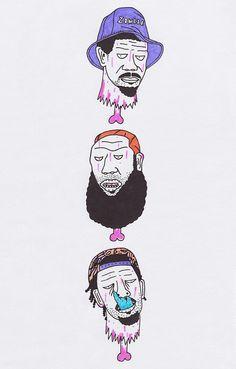Flatbush Zombies. Gangster Doodles