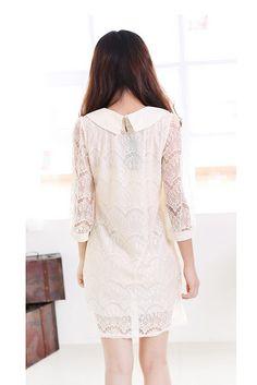 White Lace Dress, iAnyWear