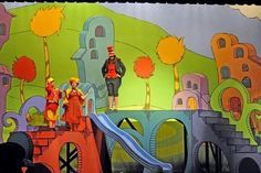 professional seussical set pieces - Google Search